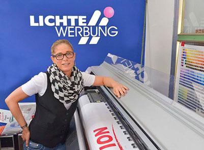 Lichte Werbung GmbH bannerdruck